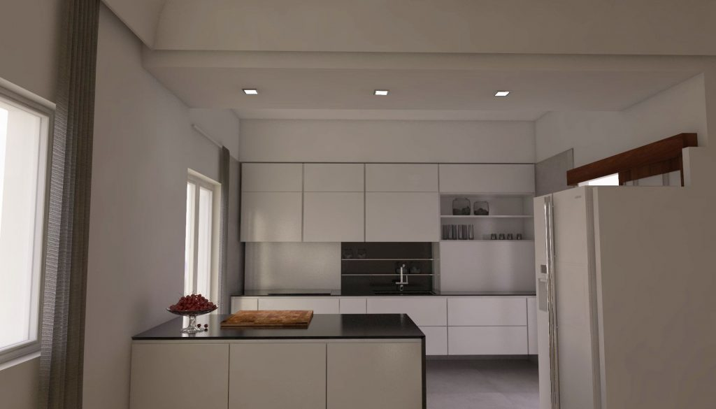 tailored suspended kitchen